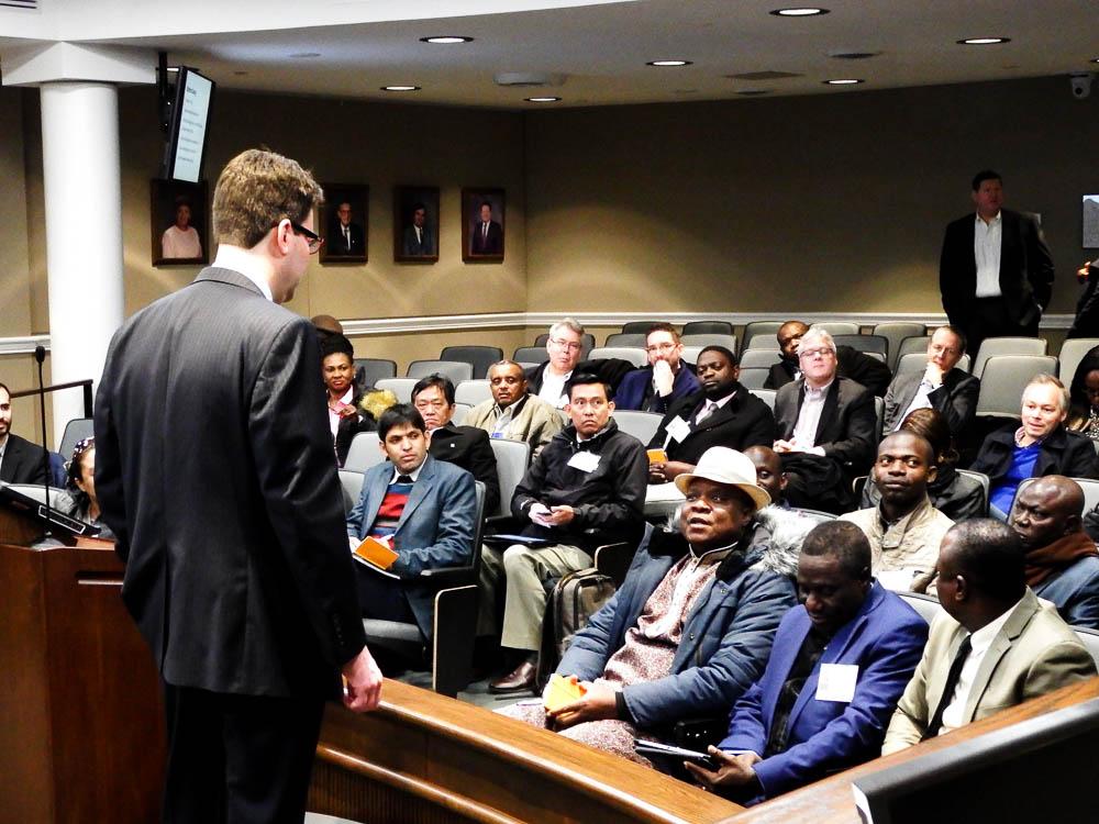 Reuters Worldbank Visit to Stafford, Virginia